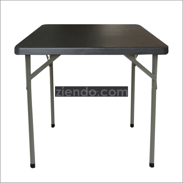 Lifetime Square Folding Table.Lifetime Square Folding Table Black