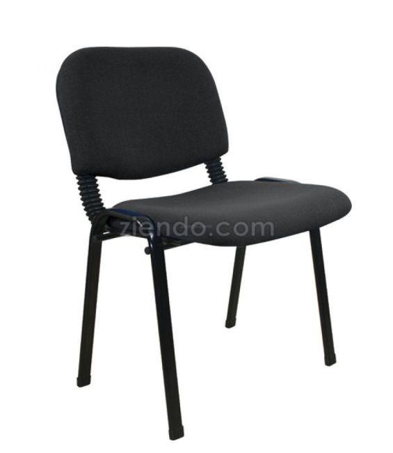 Winners Office Visitors Chair Black